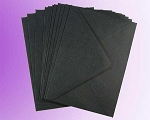 Black C6 Envelopes (114 x 162mm)