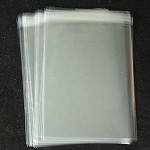 250 - 7' x 5' Cello Bags Self Seal for Greeting Cards