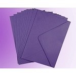 Purple C7 Envelopes (82 x 113mm)